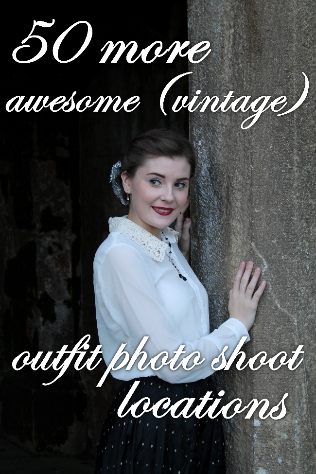 50 more awesome (vintage) outfit photo shoot locations