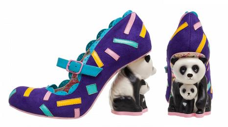 irregular choice panda shoes