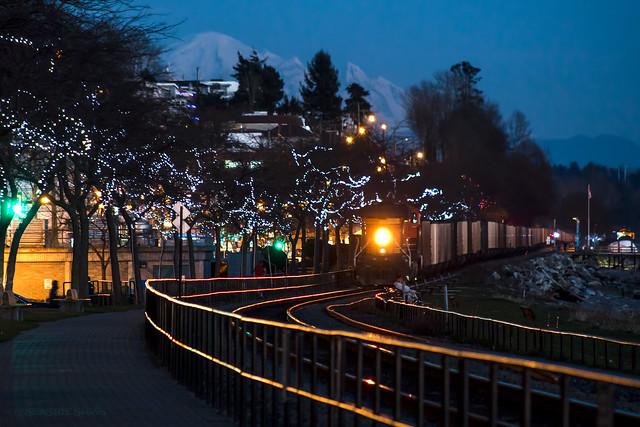 Night Train ~ White Rock, BC