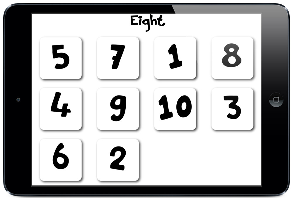 The Knock Knock Number Recognition Feature