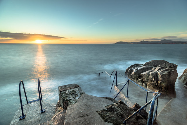 Sunrise in Hawk cliff, Dalkey, Co. Dublin, Ireland