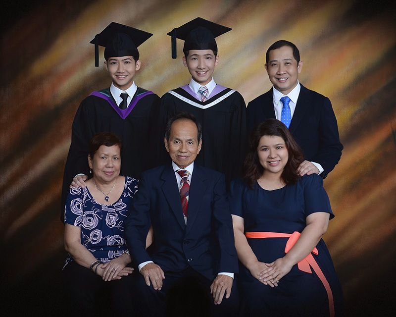 typicalben typicalben randy graduation photo - grandparents