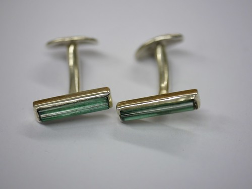Tourmaline Bar Cufflinks - 1