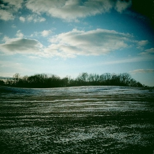 cameraandroid clouds field ohio snow trees year2012 2012