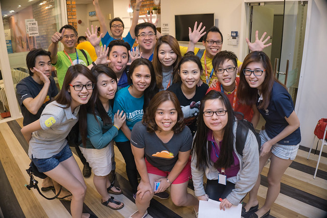 Sales and MARketing Trend Sharing (SMART) group photo