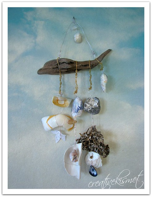 ocean shell wind chimes