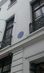 Photo of Richard Bright blue plaque