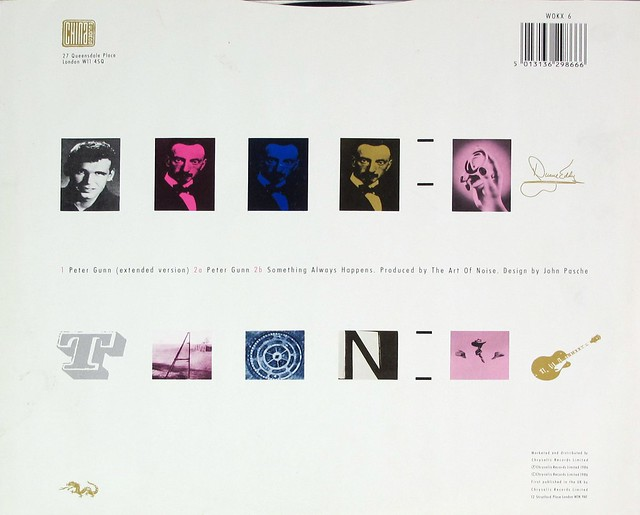 "ART OF NOISE FEAT DUANE EDDY - PETER GUNN EXTENDED VERSION 12"" MAXI-SINGLE VINYL"