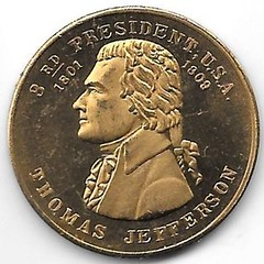 Numismatic Scrapbook Contributor's Medal Pres. #3 001