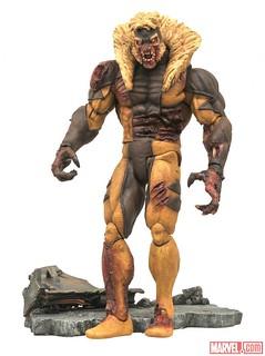 Marvel Select【殭屍劍齒虎】Sabretooth 超級英雄殭屍 末日來襲!!