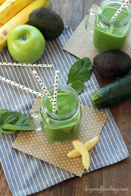 Make Ahead Green Juice Smoothies