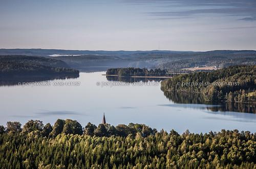 3 sverige kyrka swe västragötaland bengtsfors flygfoto ärtingen ärtemark