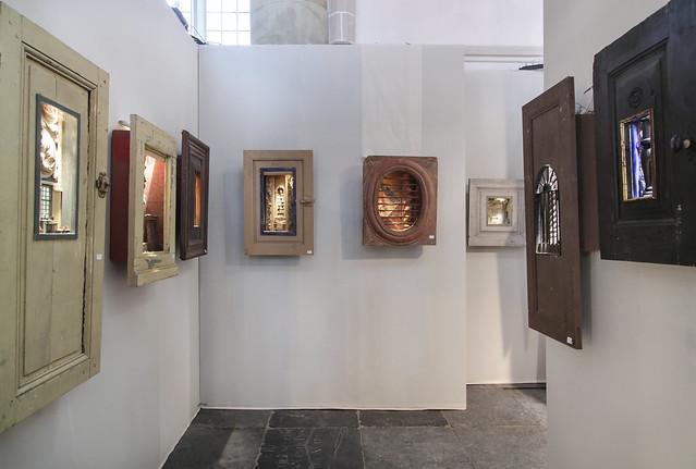 Peter Gabriëlse @ Kunst & Antiek Weekend - Naarden 2015