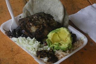 Best Chicken Asado (BBQ) ever.  Semuc Champey, Guatemala.