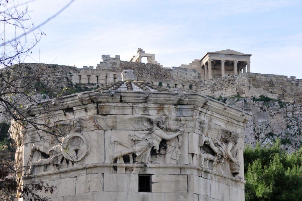 Torre de los vientos, ágora roamana atenas en 2 días - 16426001068 4b36433d69 b - Qué ver en Atenas en 2 días