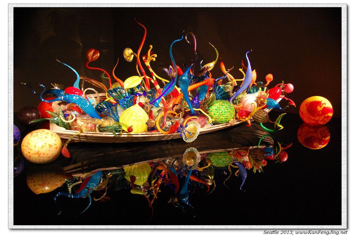 美丽宜居的西雅图,令人惊艳的玻璃艺术馆