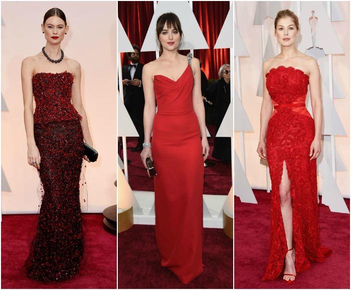 vestidos rojos gala de los oscar 2015