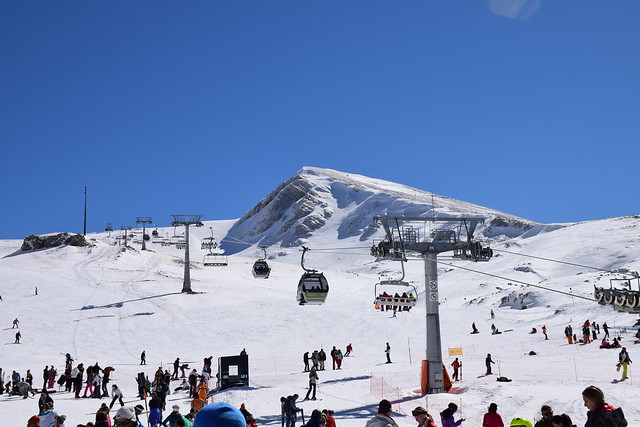 Parnassos Ski Centre in Greece!