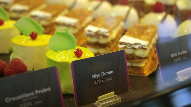 Myu Myu durian cake
