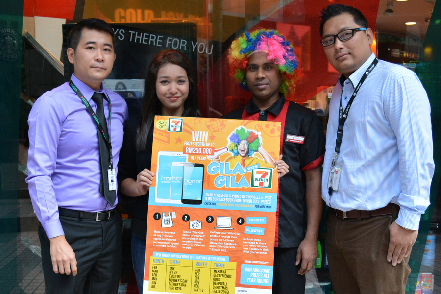 Go crazy with 7-Eleven for the year!