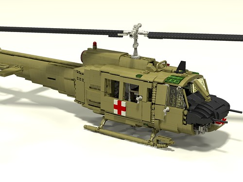 UH-1D Huey Medevac front upper right