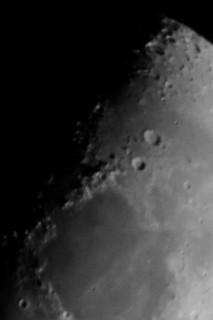 section of the moon