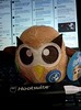 #PlushOwly & the new mobile device charger from #Hootsuite