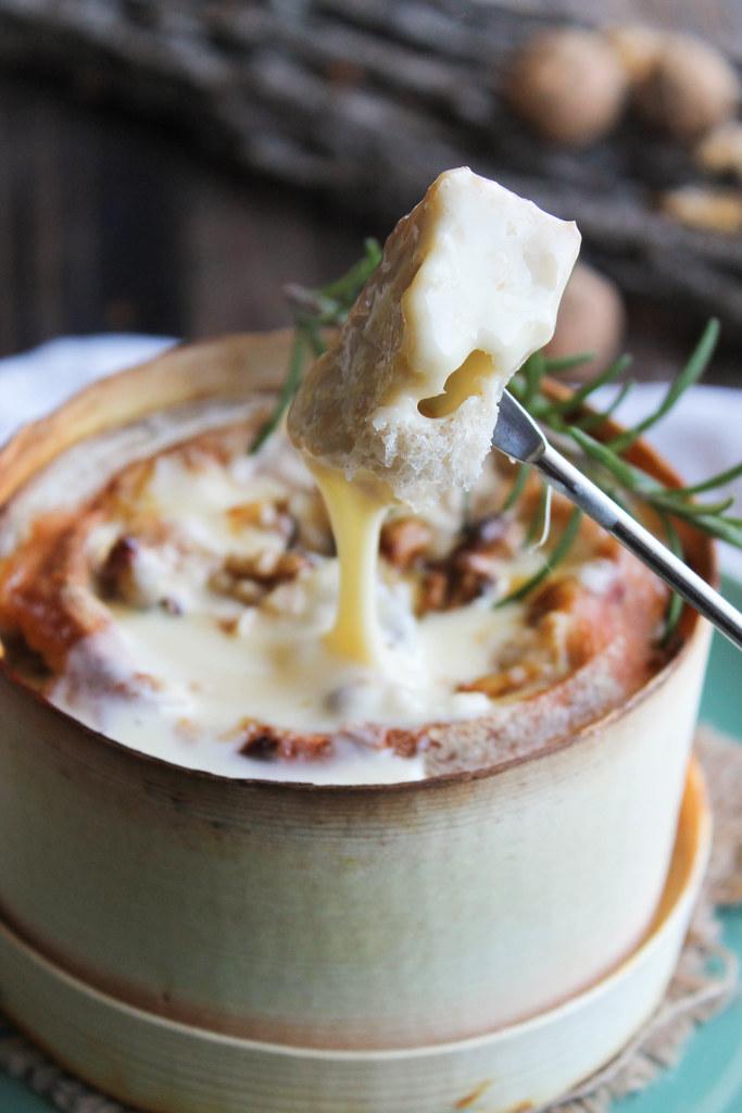 Mont d'or en fondue