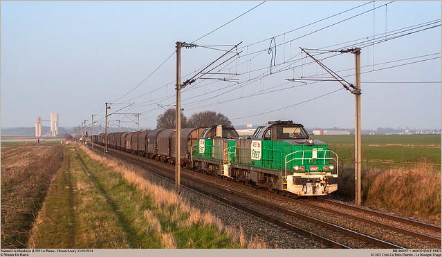 SNCF 460057 + 460029 @ Nanteuil-le-Haudouin