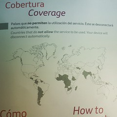 Vuelo en un A-340/600 de Iberia con WiFi pero en la Argentina no está permitido el servicio Cc @sirchandler