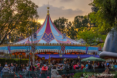 Disneyland Sunset