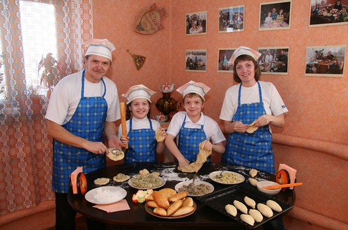 Russia – helping families adopt good nutrition habits