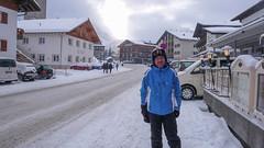 Główna ulica w Lech - to ja