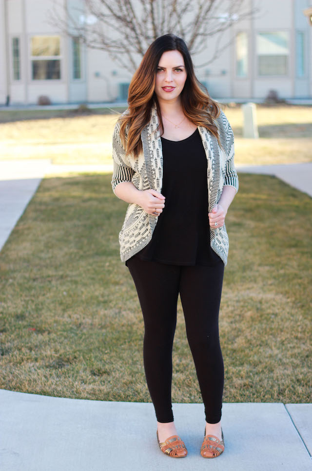 sheinside cardigan