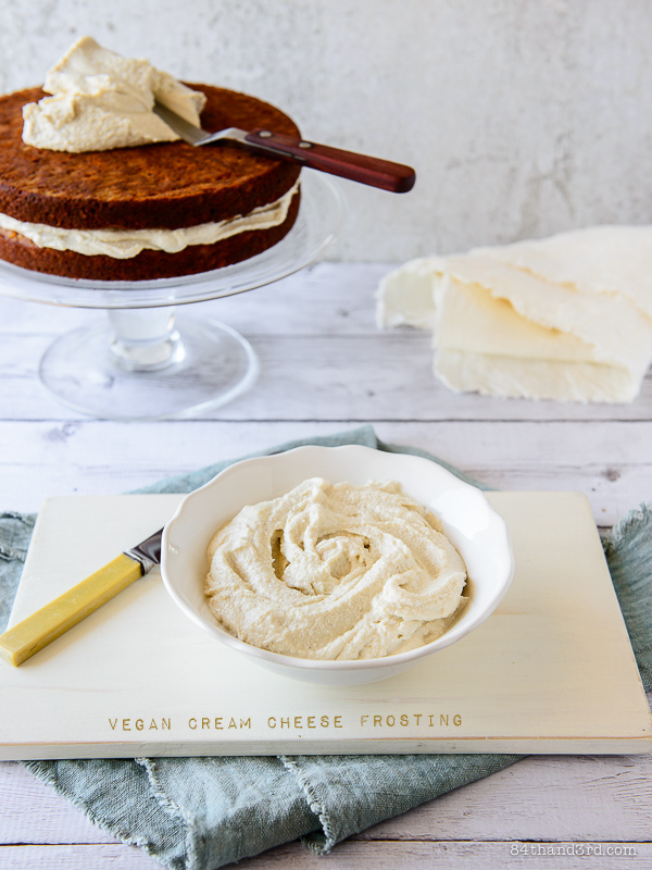 Vegan Cream Cheese Frosting
