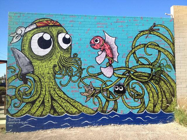 Roosevelt row graffiti