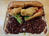 catfish po-boy red beans rice Hard Knox Cafe Dogpatch San Francisco