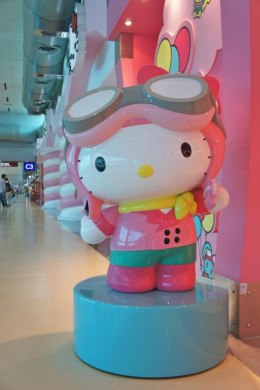 Helly Kitty departure gate