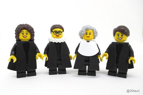 Legal Justice League - Women of SCOTUS by pixbymaia