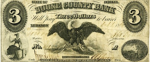 Boone County Bank note