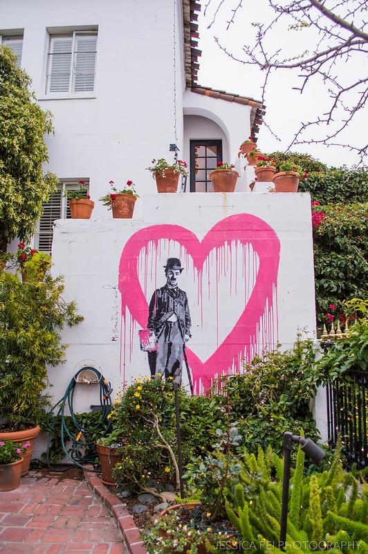 Carmel California Graffiti Wall