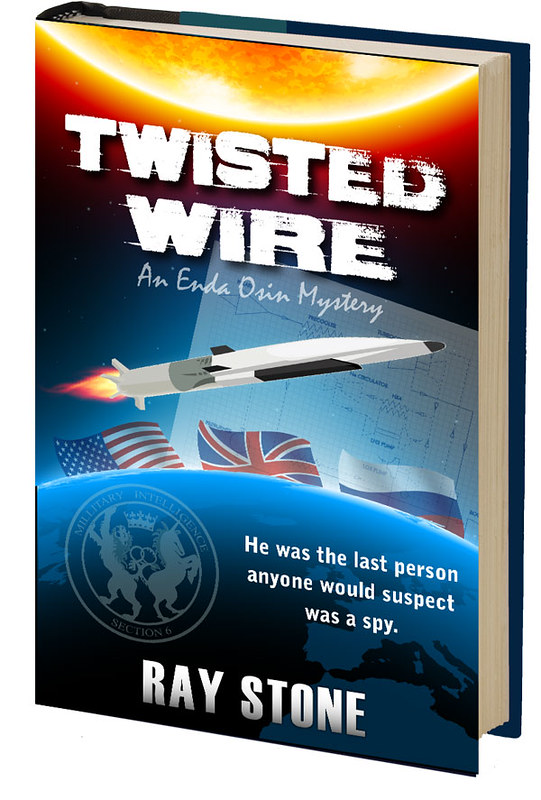 Book Cover Design: Ray Stone Twisted Wire