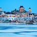 Quebec city in winter by Nino H