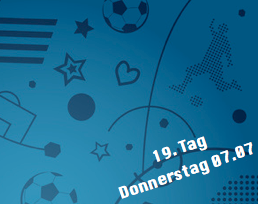 19. Tag - Donnerstag 07.07