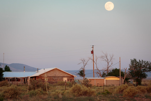 The Moon in New Mexico