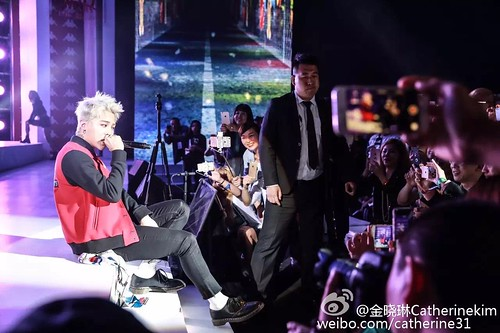 G-Dragon - Kappa 100th Anniversary Event - 26apr2016 - catherine31 - 05