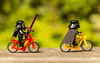 Darth & Kylo bike ride