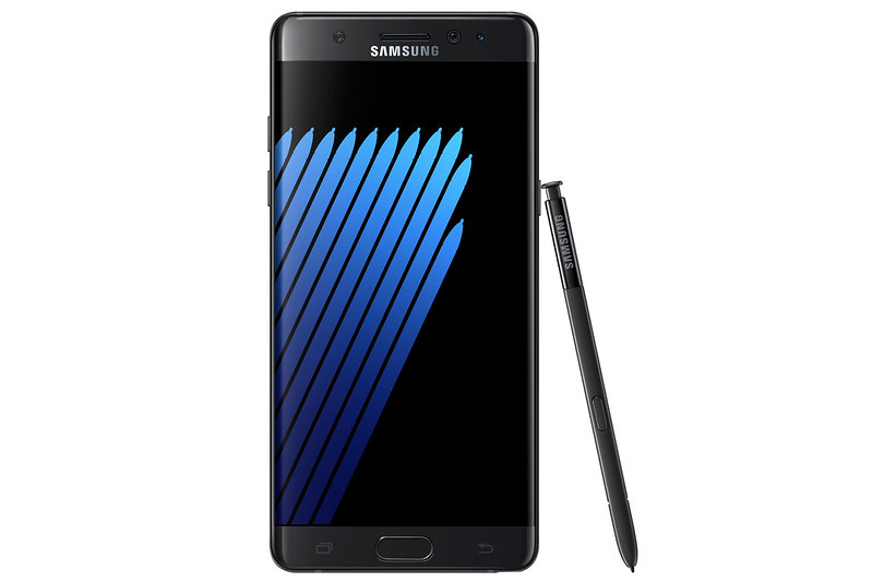 Samsung Galaxy Note 7 - Black Onyx - Front