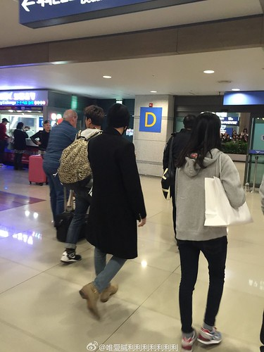 Big Bang - Harbin Airport - 22mar2015 - Seung Ri - 唯愛膩利利利利利利利 - 10