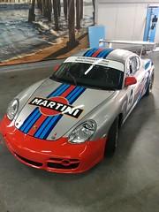 Porsche Cayman Martini striping en lakbescherming